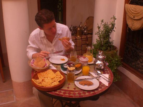 Riad Slawi: breakfast