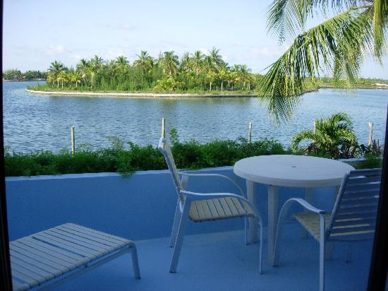 Treasure Cay Beach, Marina & Golf Resort : Balcon