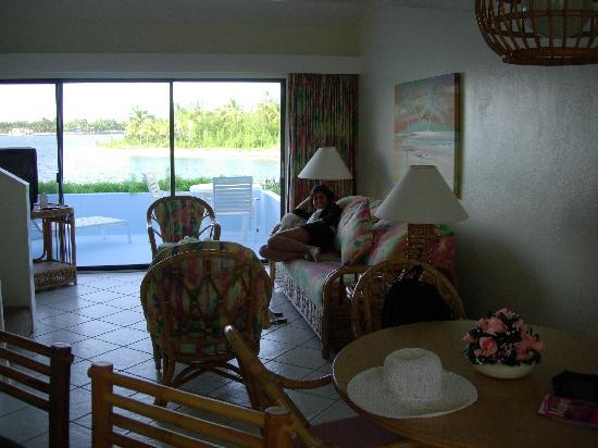 Treasure Cay Beach, Marina & Golf Resort : Salon
