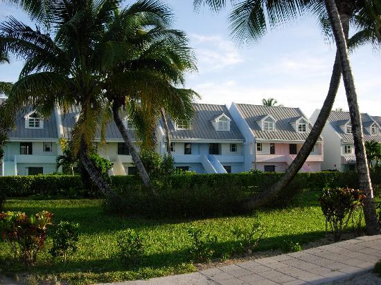 Treasure Cay Beach, Marina & Golf Resort : les chambres (enfin les petites maisons!)
