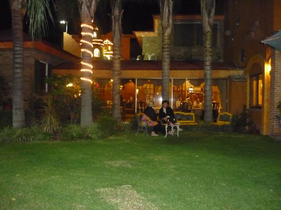 La Mansion del Sol: This is the beautiful courtyard
