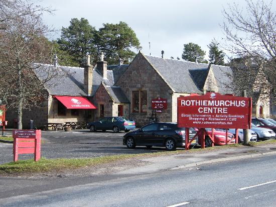 Eagle View Guest House : rothiemurchus activity centre near aviemore