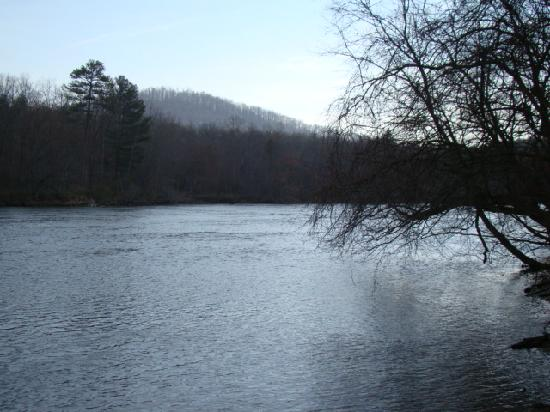 Asheville River Cabins: Breath taking view