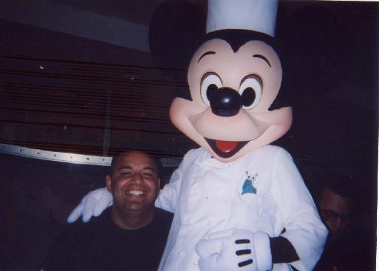Magic Castle Inn and Suites: Mickey and I