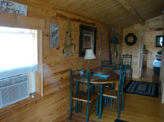 Asheville River Cabins: A touch of country warmth