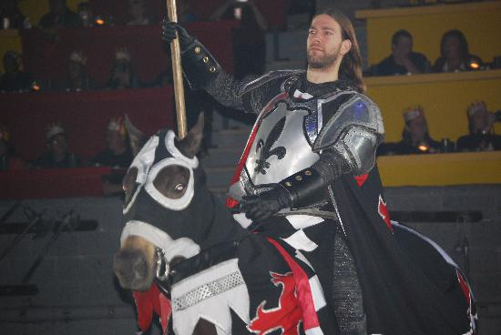 Medieval Times Dinner & Tournament: Our Knight - the winner for the evening!