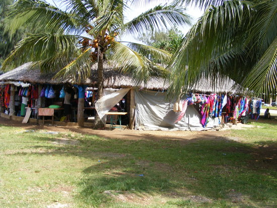 Vanuatu: Hut market in Port Villa - great for shopping!