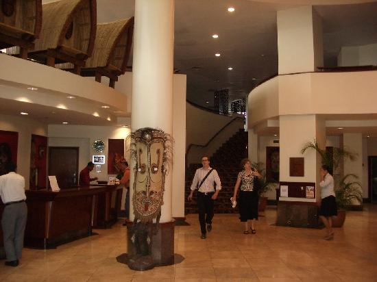 Crowne Plaza Port Moresby: Reception