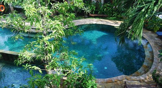Tamukami Hotel: Nice pool design at Tamukami