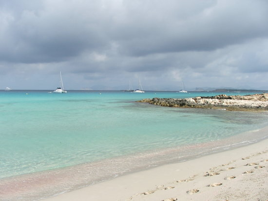 Strand Playa de ses Illetes: illetes 2008
