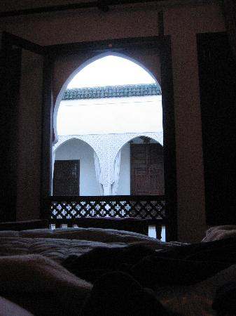Riad Assakina: From our room