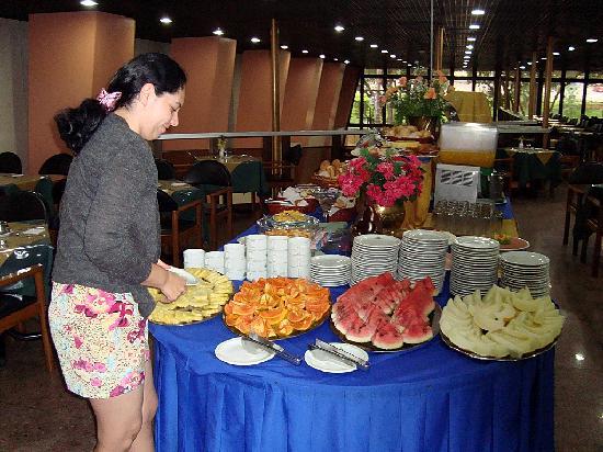 Taj Mahal Hotel Manaus: The breakfast