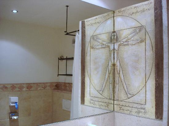 "Hotel ""Colosseo"" Europa-Park: Décor de la salle de bain"