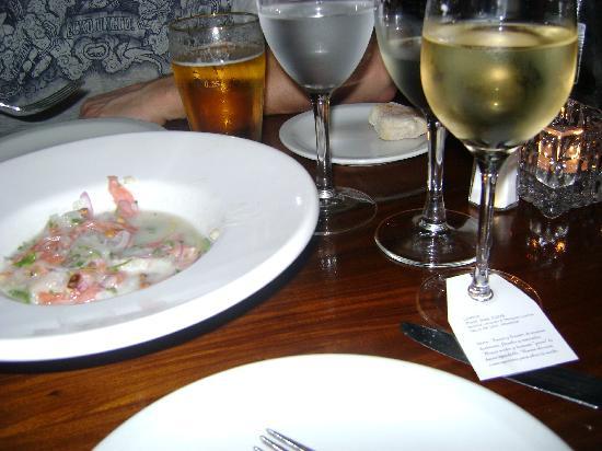 Gran Bar Danzon: a sashimi dish..so good