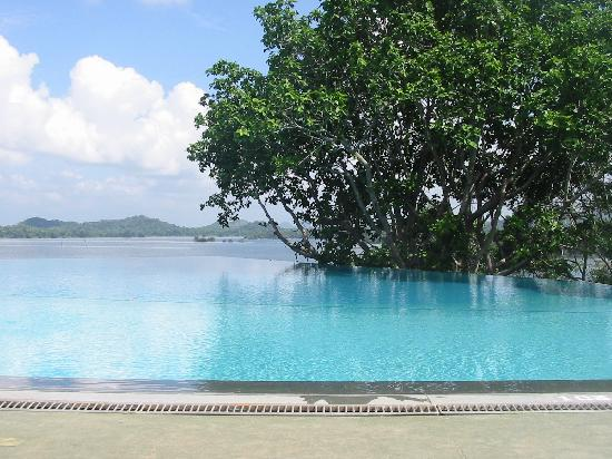 Heritance Kandalama: The lovely infinity pool