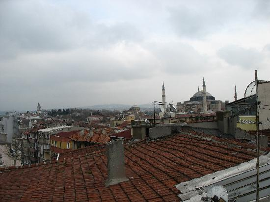 Aldem Hotel: View from the roof