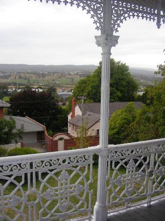 Bifrons House Serviced Apartments: View form top upstairs verandah