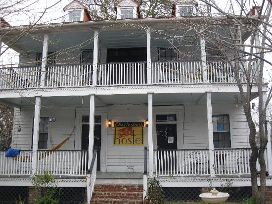 Charleston's NotSo Hostel: Main House