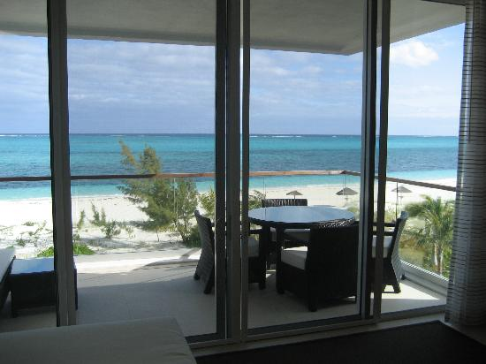 Gansevoort Turks + Caicos : Not a bad view first thing in the a.m!!!!!