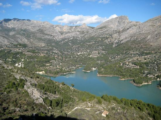 Guadalest Monastery : The Lake