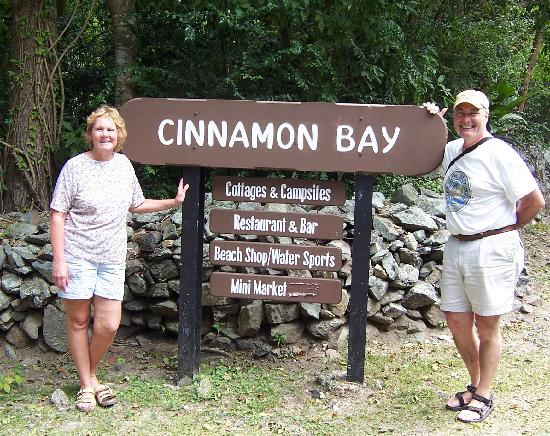 Cinnamon Bay Campground: We like it here