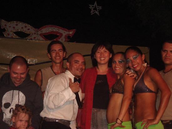 Palma Real Beach Resort & Villas : Great entertainment crew with happy guests