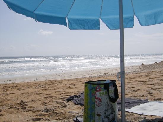 Sun Deck Motel: on the beach