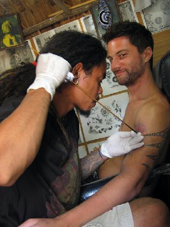 The Rock Bar: Bamboo tattoo