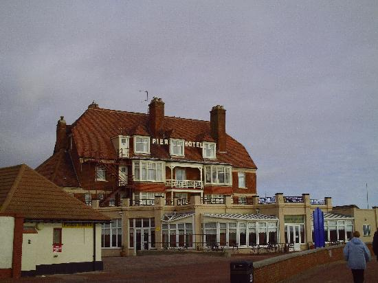 "The Pier Hotel: View from the beach ""Amazing"""