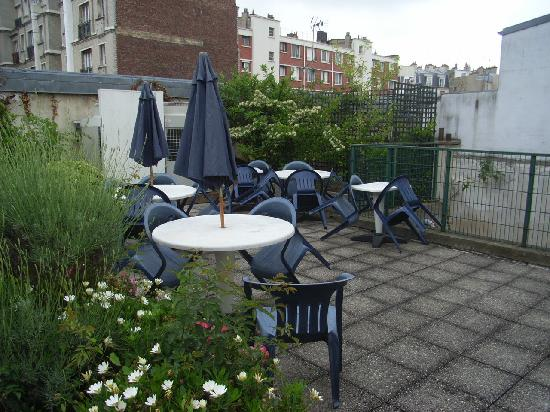 rooftop terrace picture of timhotel jardin des plantes paris tripadvisor. Black Bedroom Furniture Sets. Home Design Ideas