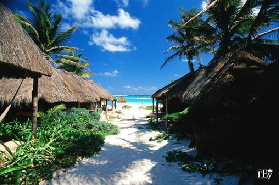 Retiro Maya Villas : View from the Beach