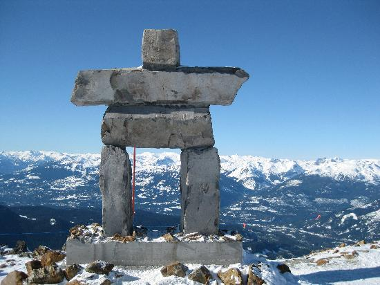 Nita Lake Lodge: View from Whistler Peak
