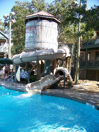 Pool party games at the beach house picture of disney 39 s - Swimming pools with slides north west ...