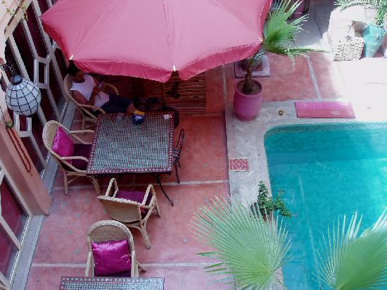 Riad Dalla Santa : Le petit bassin
