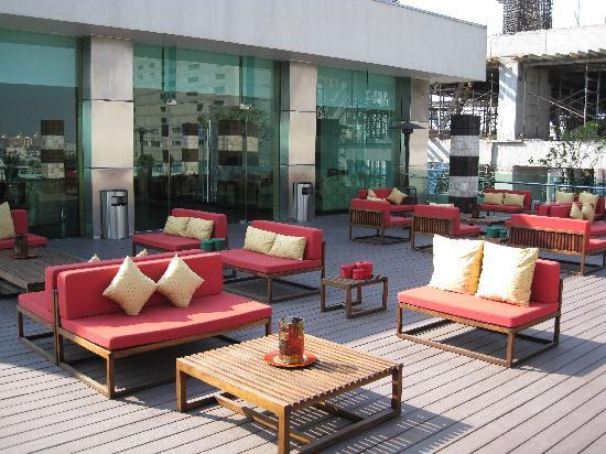 Mexico City Marriott Reforma Hotel: Club Lounge terrace