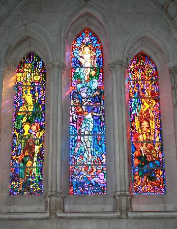 Washington National Cathedral : National Cathedral - stained glass window