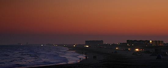 Holiday Inn Express Hotel & Suites Port Aransas / Beach Area: View from the pier on the beach