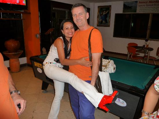 Stoney Monday Oasis Hotel : Rell the Owner and his lovely Geh