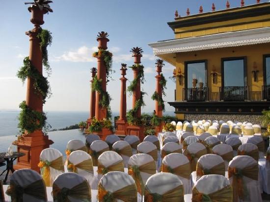 Villa Caletas: our wedding scene