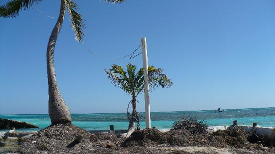 Caye Caulker, Belice: near the split