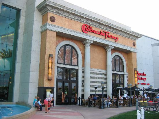 Information & Events The Cheesecake Factory store is located in The Mall at Millenia, Conroy Road, Orlando, FL
