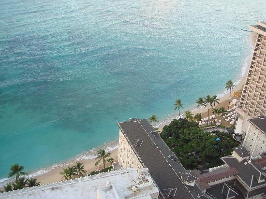 ハイアット リージェンシー ワイキキ リゾート & スパ, ビーチが目の前