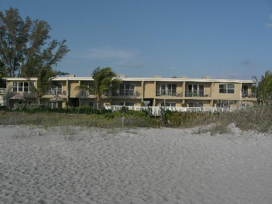 The Beach on Longboat Key: Unit 107 is last one on left bottom floor