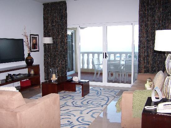 Princess Heights Hotel: living area
