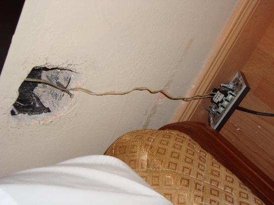 Hotel Don Manuel: enchufes varios....