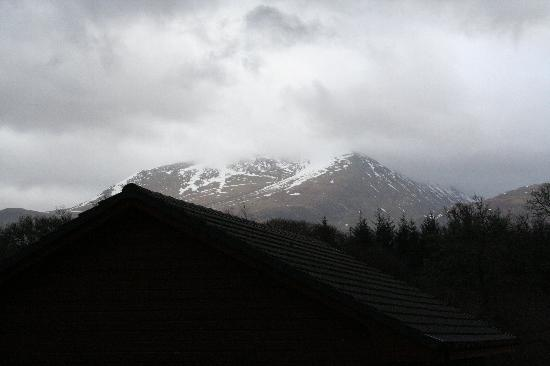 Seangan Croft Lodges & Cottages: Ben Nevis from Chalet
