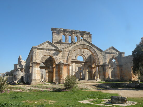 Aleppo, Syria: Deir Saaman - St. Simeon