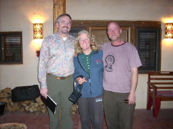 La Posada de Taos B&B: Brad and Michael... great innkeepers!