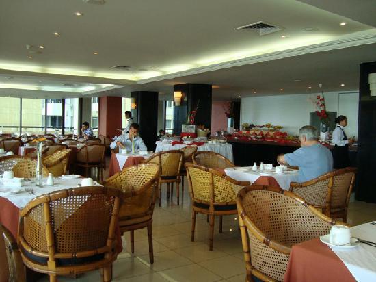 Grand Mercure Recife Boa Viagem: An excellent breakfast