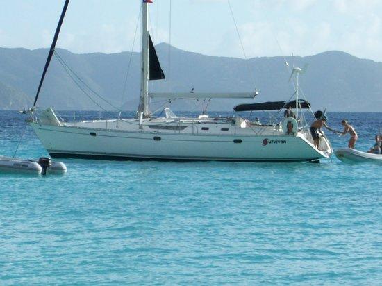St. John Yacht Charters Survivan: Survivan